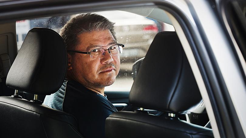 Antonio Carlos Mitisuke Seirio virou motorista do Uber após ficar sem emprego como engenheiro.