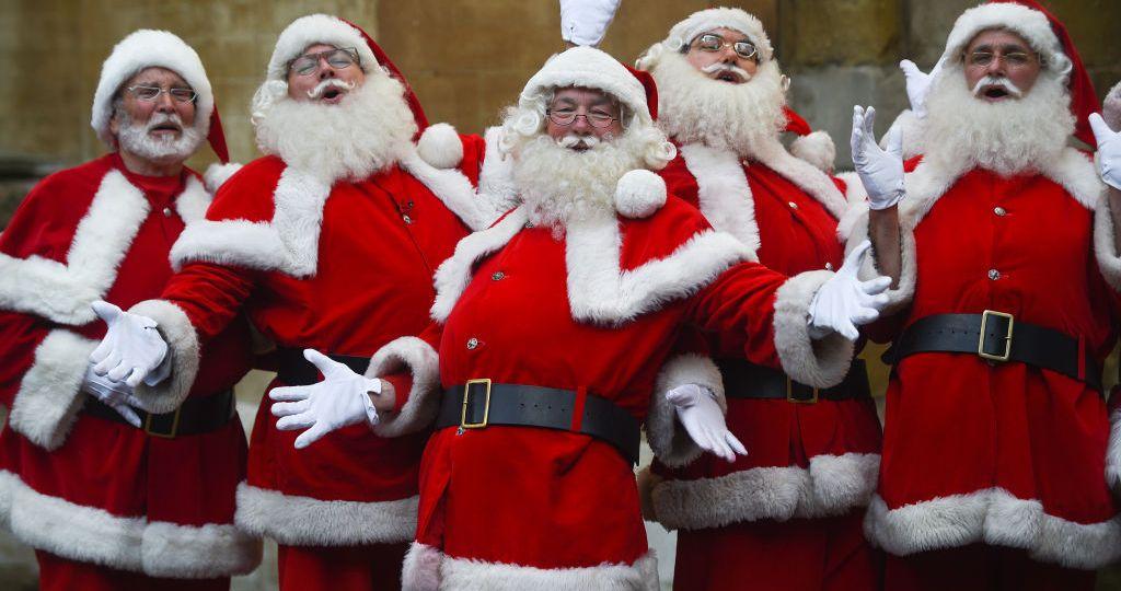 Santa school at Southwark Cathedral